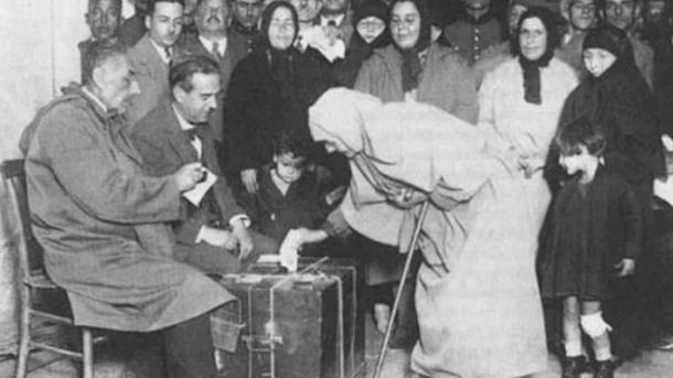 La Grande Assemblée nationale de Turquie adopte le droit de vote aux femmes