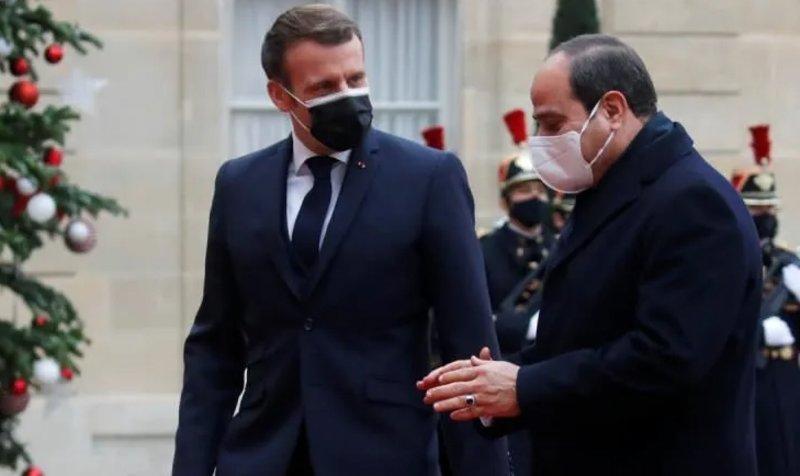 Macron et al-Sissi, les contours de l'alliance anti-Turcs