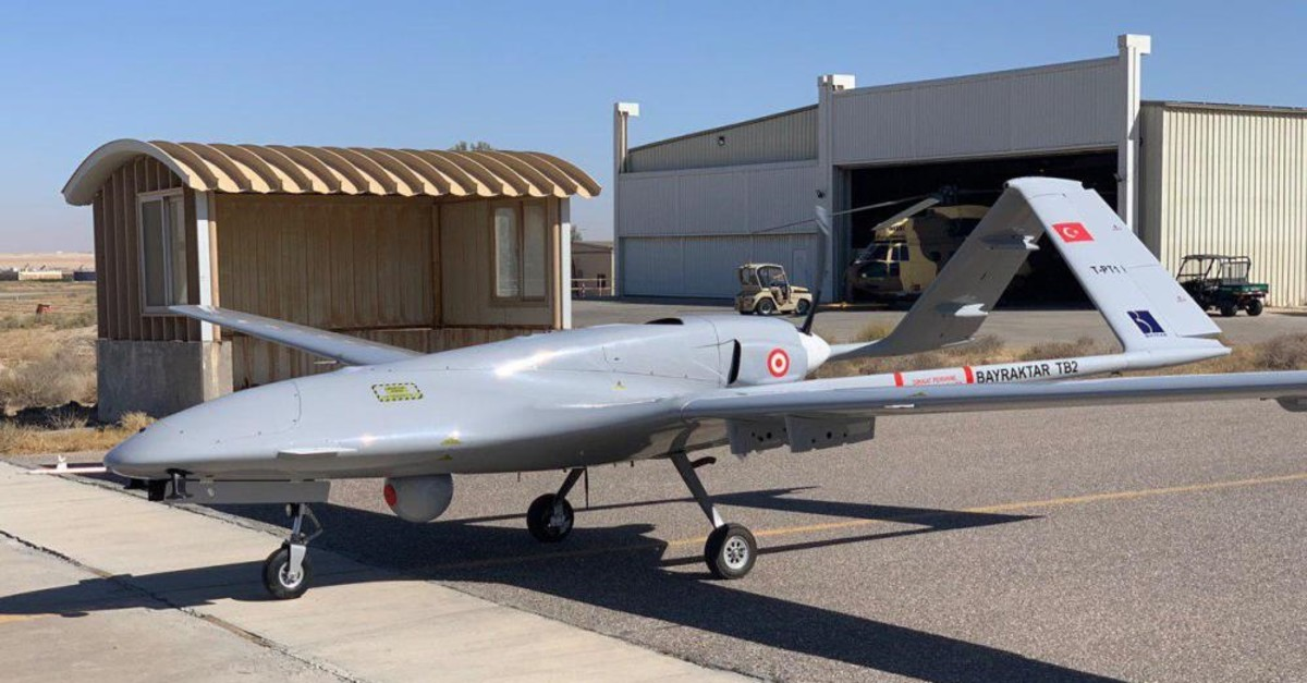 "Le Bayraktar TB2 turc drone une ""vraie menace"""
