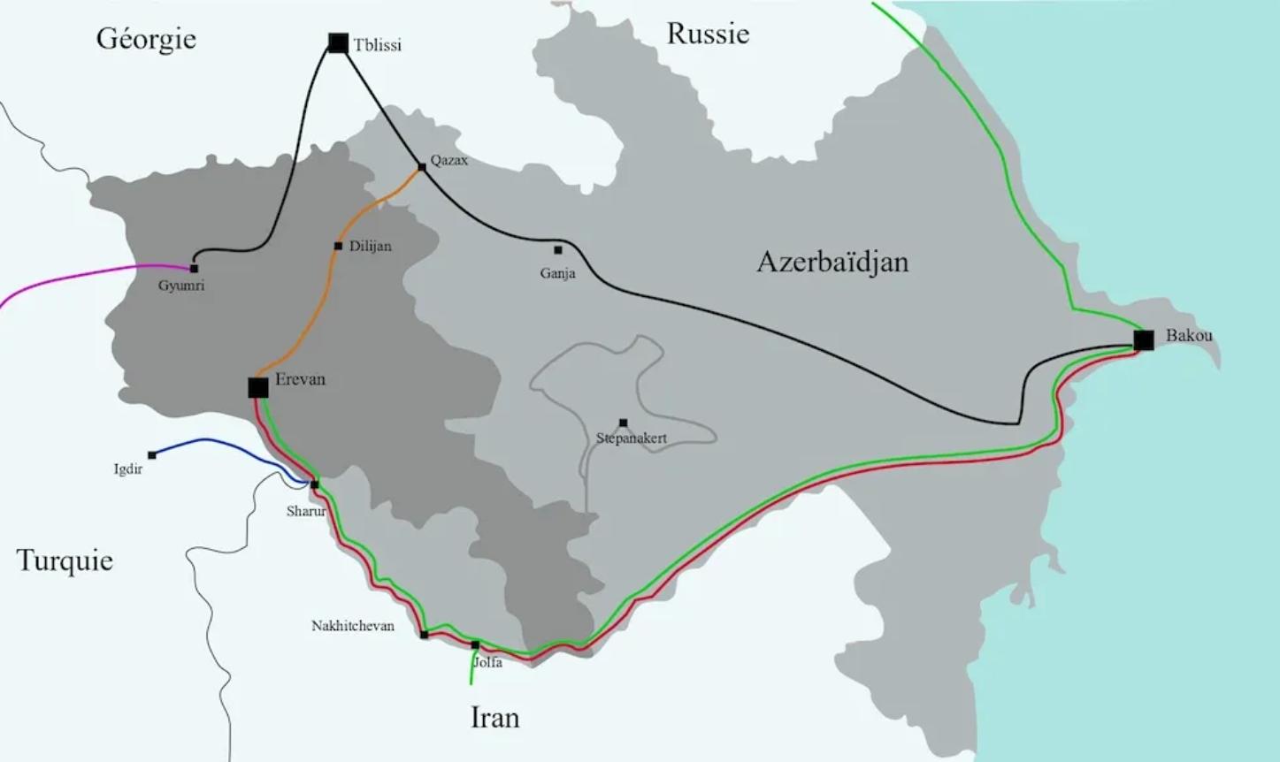 Caucase du Sud : le grand chantier de l'ouverture des voies de communication