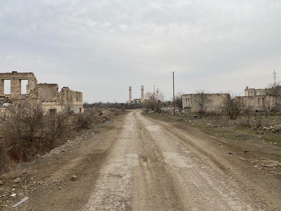 Aghdam, village fantôme du Karabakh, attend la résurrection