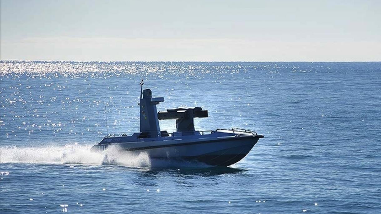 Le premier navire de surface armé sans équipage, de fabrication turque, mis à l'eau