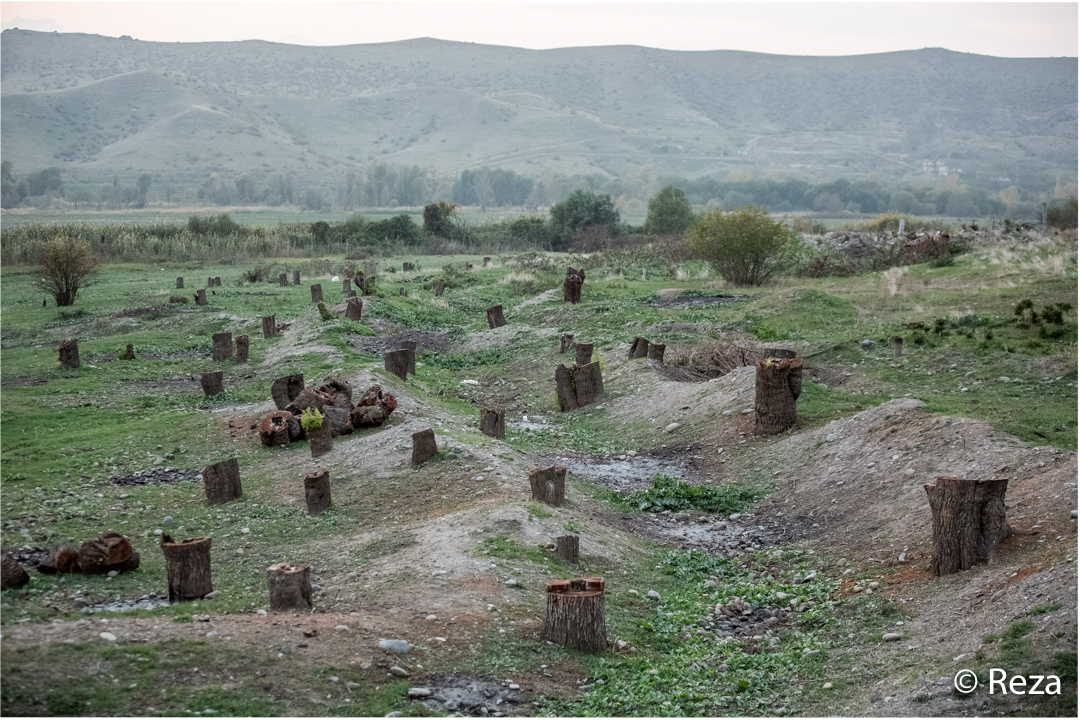 Paix pour l'Azerbaïdjan : Gulsum déplacée interne de Choucha, Azerbaïdjan