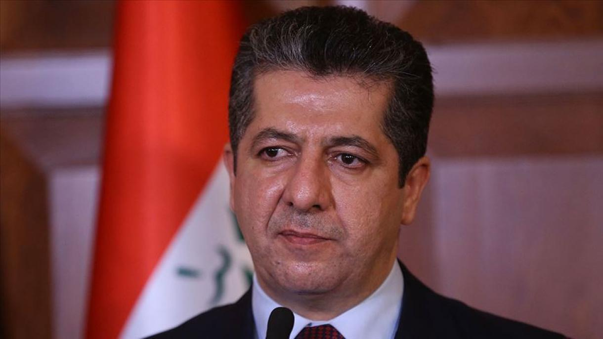 """Barzani : """"La présence du PKK au nord de l'Irak constitue une menace pour la sécurité de la Turquie"""""""