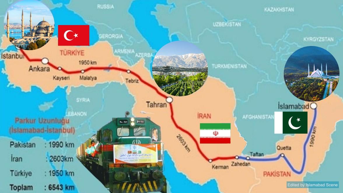 Départ du train de marchandises Istanbul-Islamabad à partir du 4 mars