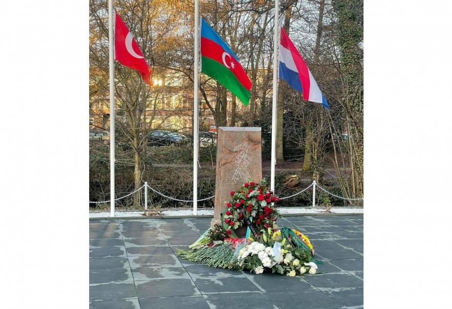 La Haye : un mémorial érigé pour commémorer les victimes du génocide à Khojaly
