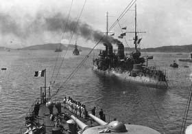 La bataille des Dardanelles