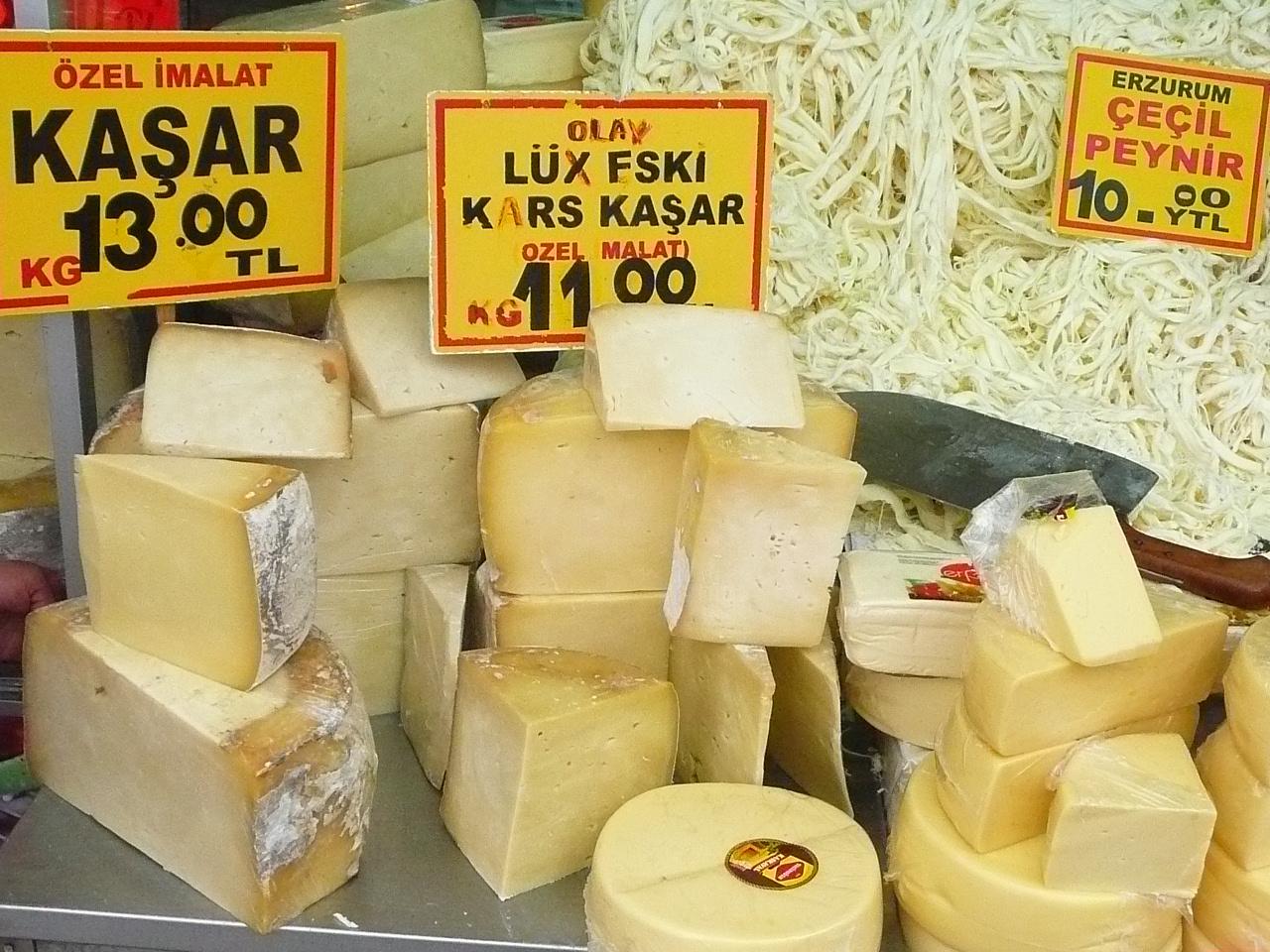 La diversité des fromages de Turquie plus que connue