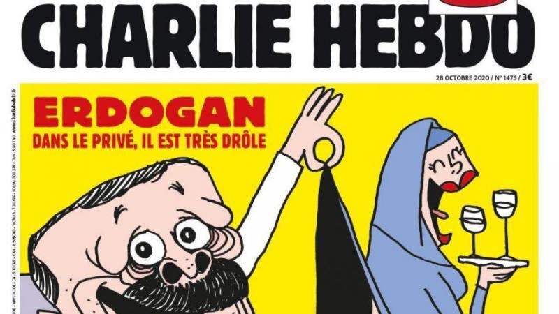 Quatre journalistes de Charlie Hebdo inculpés pour « insulte » à Erdogan