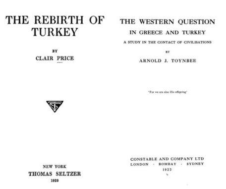 Les Arméniens pendant la Première Guerre mondiale : les réflexions rétrospectives de Clair Price et Arnold J. Toynbee
