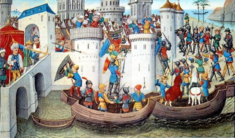 Comment les Chrétiens d'Orient ont ruiné Constantinople