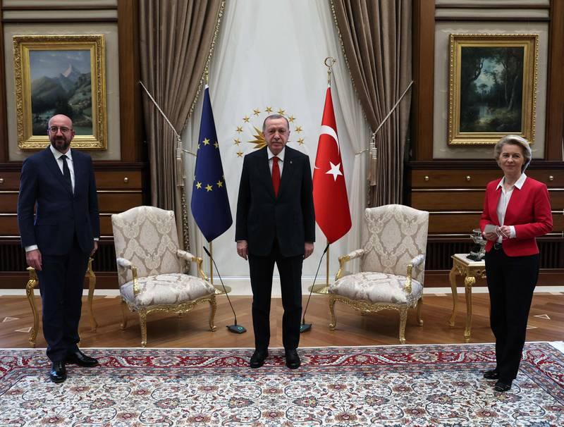 Recep Tayyip Erdogan a-t-il humilié Ursula von der Leyen ?