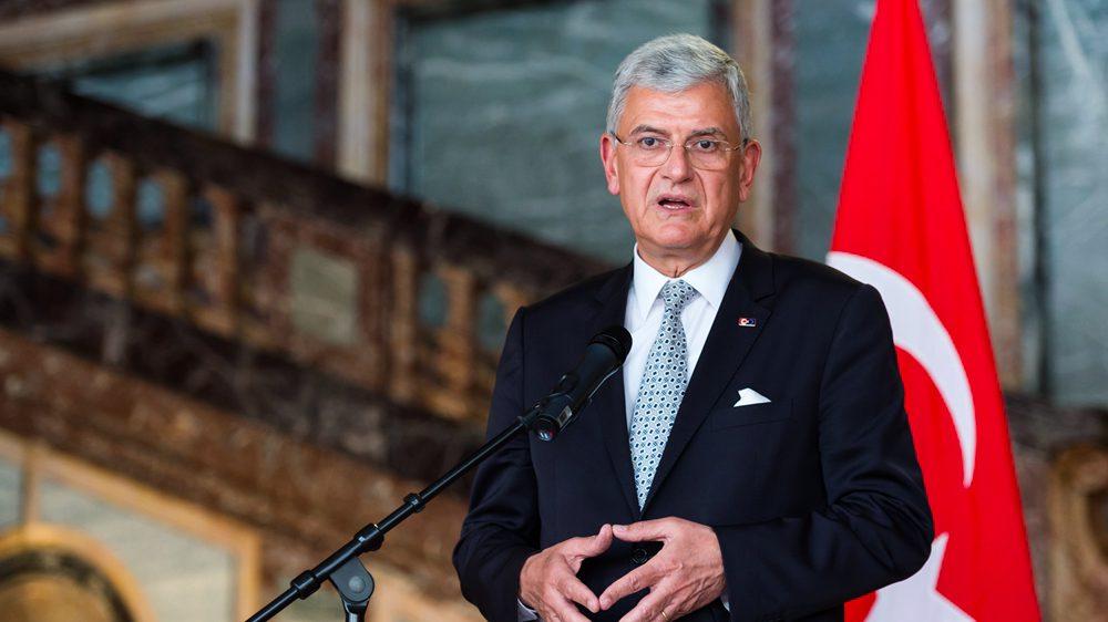 Le président de l'Assemblée générale des Nations Unies en visite en Turquie