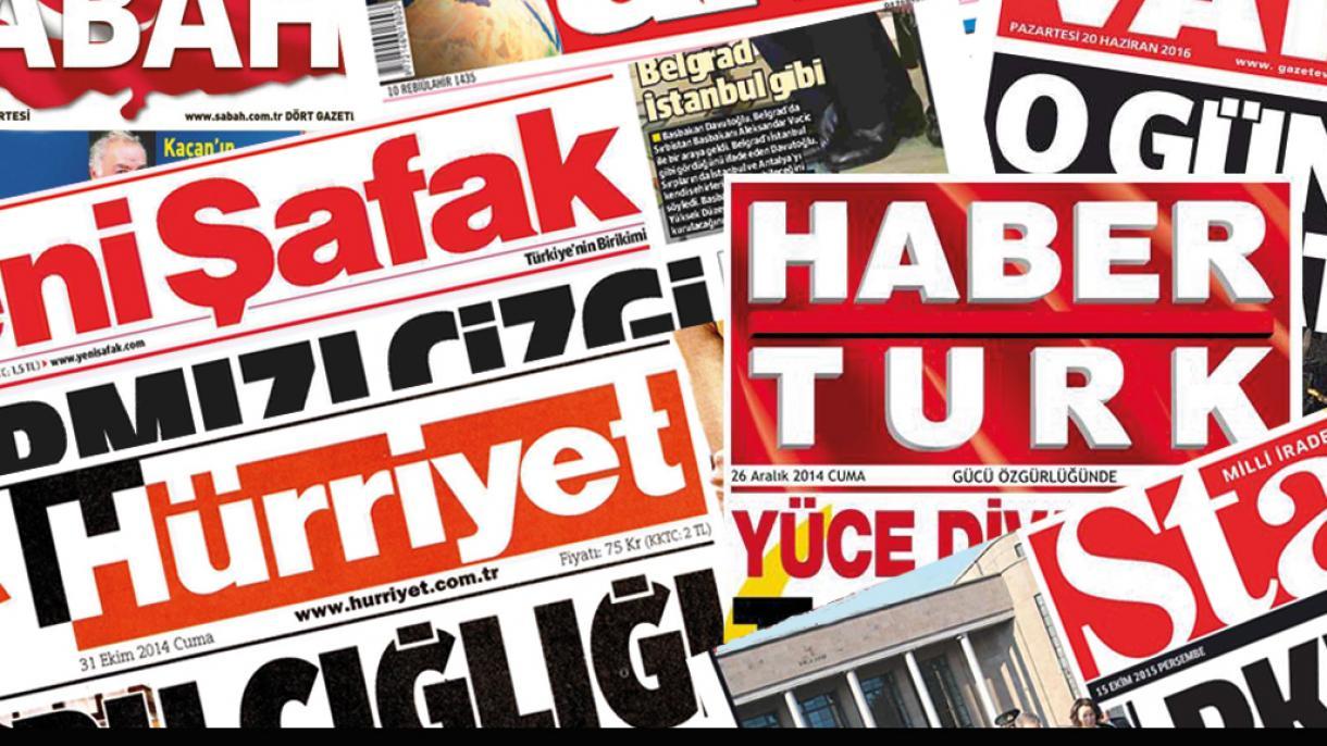 Revue de la presse turque du 15 avril 2021