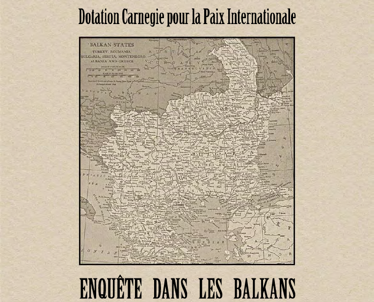 ENQUÊTE DANS LES BALKANS