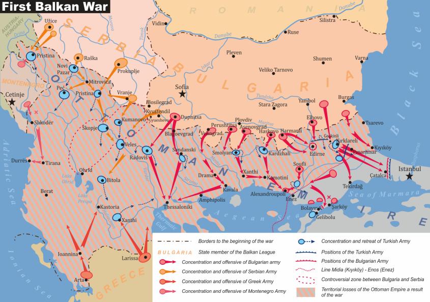 Première Guerre balkanique : l'attitude des milieux arméniens et grecs d'Istanbul
