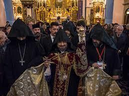 Message du 24 Avril du patriarche arménien de Turquie Sahak Maşalyan