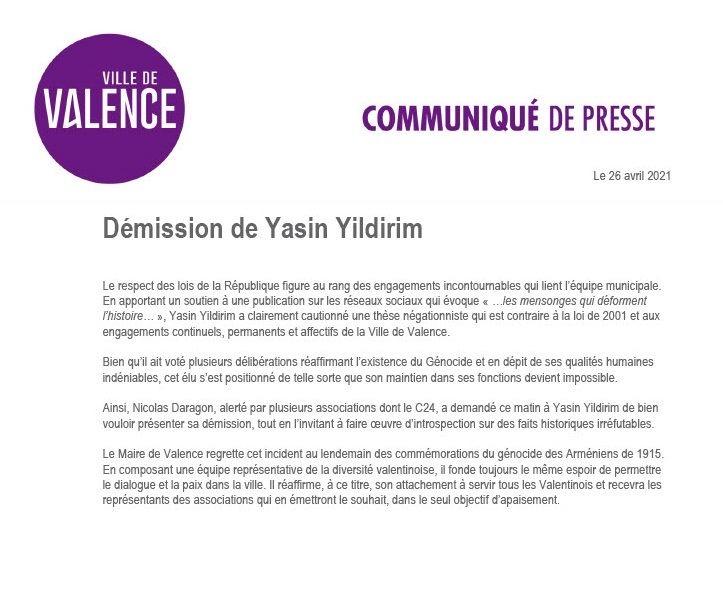 Bienvenue à Valence, cet autre état d'Arménie-en-France