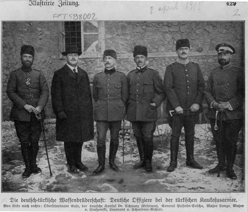 Première Guerre mondiale : la carte arménienne dans la politique de l'Allemagne