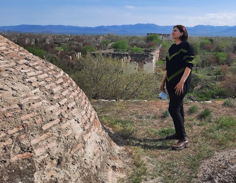Les arméniens ont détruit les monuments historiques de l'Azerbaïdjan au Karabakh