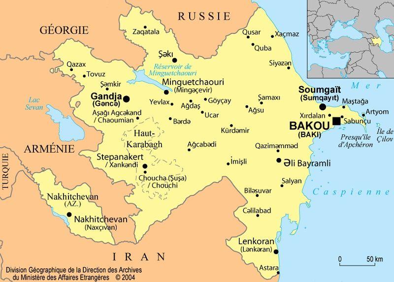 L'Azerbaïdjan se dit prêt à des pourparlers de paix avec l'Arménie