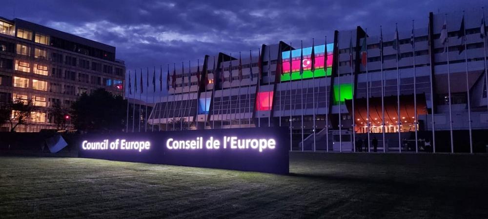 Le Conseil de l'Europe aux couleurs d'Azerbaïdjan