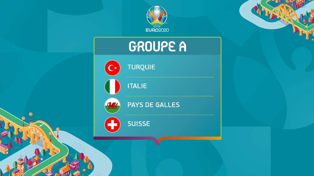 Euro 2020 – Groupe A : L'essentiel de ce qu'il faut savoir