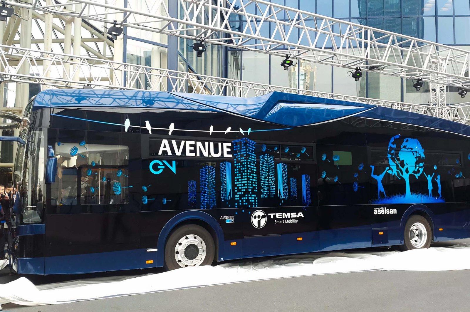 Des bus électriques 100 % « Made in Turkey » prêts pour la production en série