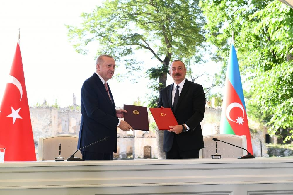 Déclaration de Choucha : l'alliance Azerbaïdjan-Turquie