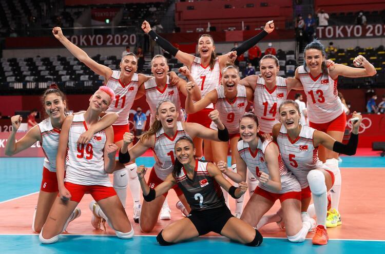 Tokyo 2020 : L'équipe nationale féminine de volley-ball a battu l'Argentine 3-0