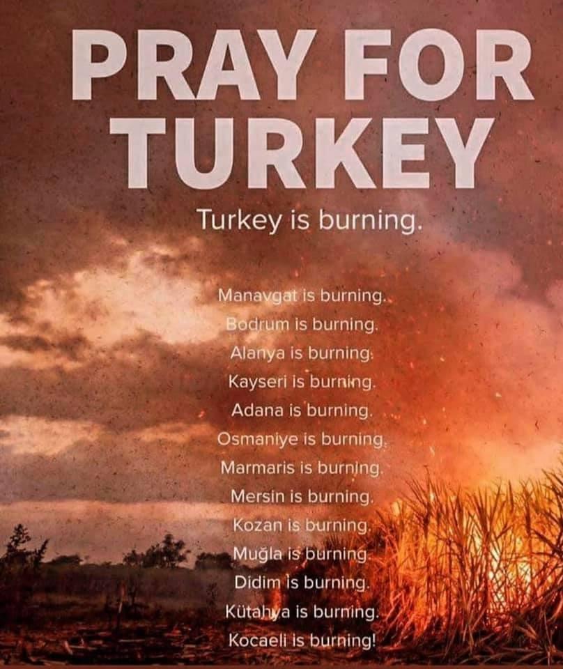 Quatre morts alors que des incendies de forêt balayent la Turquie et des villages évacués